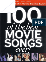 100 of the Best Movie Songs Ever.pdf