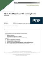 USB ResetFactory