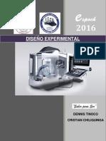 Diseño Experimental - Diseño cuadrado griego latino (DCGL)