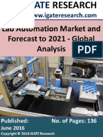 Lab Automation Market and Forecast to 2021 - Global Analysis.pdf