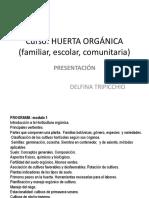Curso Huerta Presentación