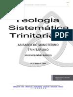 Teologia Sistemática Trinitariana (Volume I)