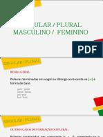 Singular Plural Masc.fem