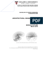 architecture design studio 1  arc 60105  - module outline  march 2016 updated