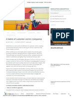 6 Habits of Customer-centric Companies - TM Forum Inform