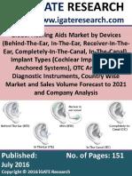 Global Hearing Aids Market