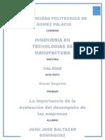La Importancia de La Evaluación Del Desempeño en Las Empresas (1)