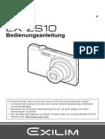 Bedienungsanleitung Casio Kamera