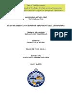 Evaluacion y Desarrollo-Jose a Morales-Taller de Tesis-Sala-A