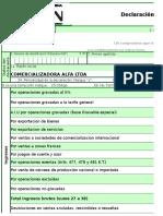 Formularios ica iva fuente cree
