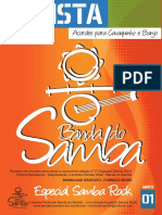Revista Banda Do Samba Edição 01 - Especial Samba Rock