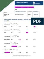 MIII – U3 – Actividad 1. Límites y Derivadas