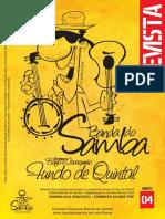 Revista Banda Do Samba Edição 04 - Fundo de Quintal