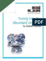 Tuning-into-the-Abundant-Universe.pdf