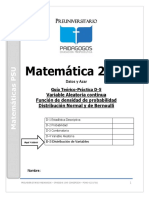 D-5 Datos y Azar -Variable Aleatoria Continua