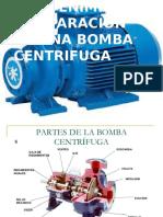 Mantenimiento y Reparacion de Una Bomba Centrifuga