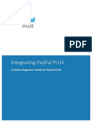 PayPal PLUS IntegrationGuide | Pay Pal | Financial Transaction
