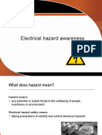 Electrical Hazard Awareness.