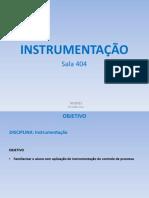 Aula 03 - Instrumentação 20150902