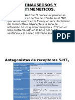 Antinauseosos y Antimemeticos