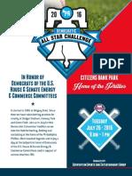 DEM ALLSTAR Challenge Sponsor Info