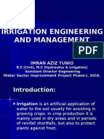 Irrigation Engineering. & Water Management