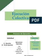 9. Ejecución Colectiva