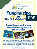 Sick Children's Trust Fundraising Pack