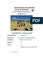 Nivelacion y Altimetria