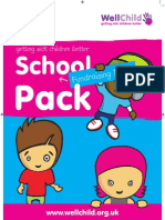 Well Child Fundraising Pack for Schools