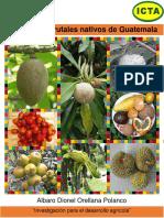 Catalogo de Frutales Nativos de Guatemala, 2014