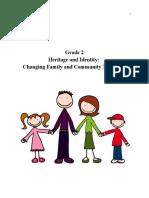 grade 2- social studies  heritage   identity