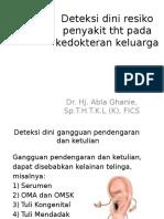 IT 12 - Deteksi Dini Resiko Penyakit THT Pada DOGA - ABL