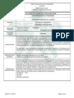 Informe Programa de Formación Complementaria. Oferta Abierta