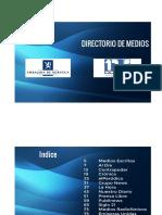 Directorio Medios Guatemala