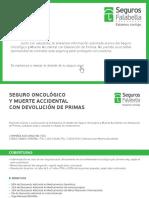 Mail Informativo Seguro Oncológico Con Devolución de Primas Itaú V2