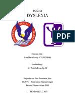 Referat Dyslexia(1)