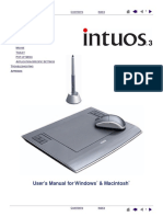 Intuos 3 Drawing Tablet