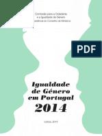 Igualdade de Género Em Portugal 2014
