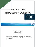 Anticipo Irenta Ecuador Sri 18-Feb-2013