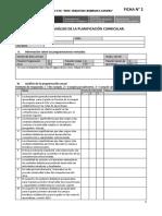 Ficha de Analisis de La Planificación Curricular Ccesa007