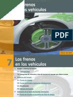 Curso Frenos Vehiculos Sistema Dinamica Aplicacion Fuerza Mando Accionamiento Circuito