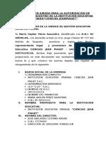 Documentos Adjuntos de La Empresa i.e.p. Ciencias Jean Piaget Sac