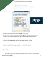 Configuración Router Modem Huawei MT882 Versión 2005 – VeredanNet