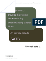 Guide to SATB Worksheets 1