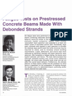 JL-94-November-December Fatigue Tests on Prestressed Concrete Beams Made With Debonded Strands