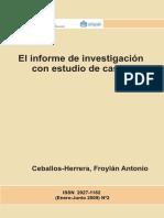 El Informe de Investigación Con Estudio de Casos