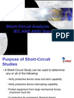 PPT Training ETAP Short Circuit