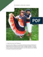 Reseña Histórica de La Danza La Pesca Del Camaron