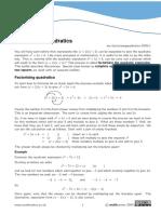 Grade 9 Algebra Worksheets | Factorization | Algebra